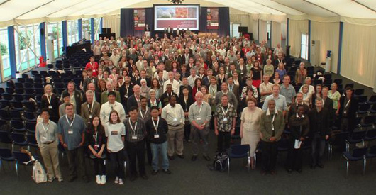 delegates at 4th botanic gardens congress
