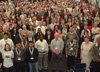 picture of lots of people at botanic gardens congress