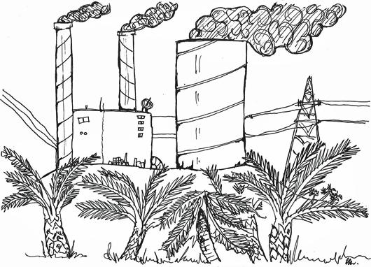 Power Plant Cartoon Cartoon of Power Station And